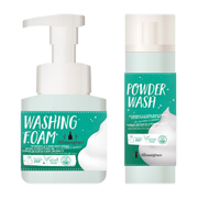 ボタニグレース バブルピール 泡洗顔&ブラック酵素洗顔パウダー/ステラシード