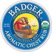 Badger(バジャー)アロマティックチェストラブバーム