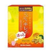 Nitta Biolab(ニッタバイオラボ)NBLコラーゲン補給食品 ごくごくキレイ レモンジンジャー味