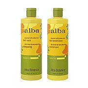 Alba Botanica(アルバ ボタニカ)alba Hawaiian ヘアウォッシュ/ヘアコンディショナー CE ココナッツミルク(Coconut Milk Extra‐Rich Hair Wash/Conditioner)
