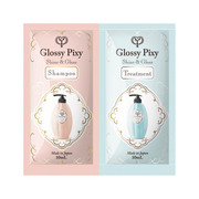 Glossy pixy(グロッシーピクシー)シャイン&グロス シャンプー、トリートメントトライアル(1回分)