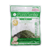 Pure Smile(ピュアスマイル)エッセンスマスク 毎日マスク8枚セット 緑茶