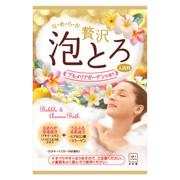 お湯物語贅沢泡とろ 入浴料 プルメリアガーデンの香り