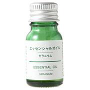 無印良品エッセンシャルオイル・ゼラニウム