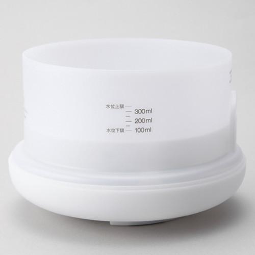 超音波うるおいアロマディフューザー 約直径168×高さ121mm / 無印良品 商品
