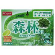 M's one薬用入浴剤 森林の香り