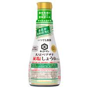 キッコーマンいつでも新鮮 大豆ペプチド減塩しょうゆ(だし入り)