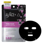 ALFACE+(オルフェス)トゥインクルブラック アクアモイスチャーシートマスク