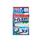 トイレ洗浄中 / 小林製薬
