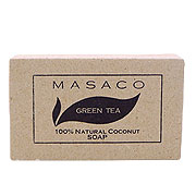 MASACO石鹸グリーンティー