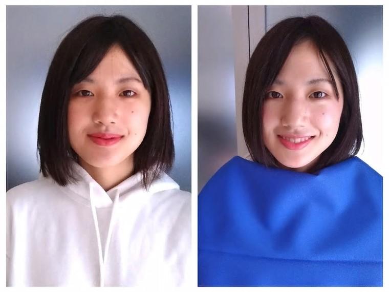 顔 タイプ クール カジュアル