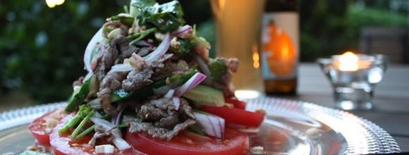 私をつくるキレイのもと。金曜日のレシピ「トマトと牛肉のタイ風サラダ」
