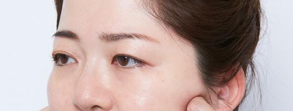 顔のたるみやむくみを解消!マッサージ&美肌ゾーン強調ですっきりシャープな小顔に。大人のカモフラベースメイク術【5】