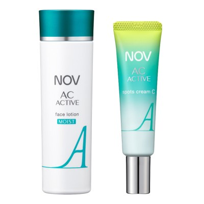 ニキビのできにくい肌環境へ導く化粧水とクリームがリニューアル