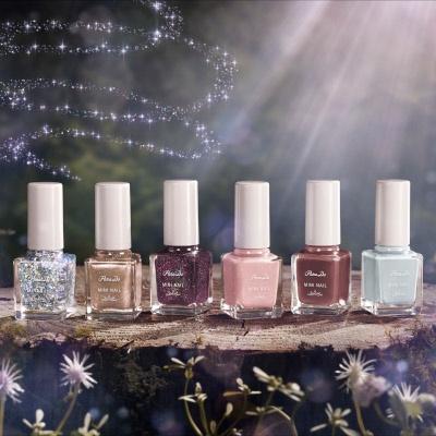 森の妖精たちが紡ぎだす情景をイメージした、秋冬ネイル新6色
