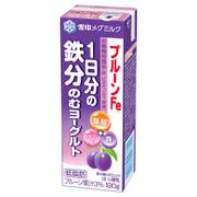プルーンFe 1日分の鉄分 のむヨーグルト / 雪印メグミルク