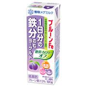 プルーンFe 1日分の鉄分 のむヨーグルト 糖質・カロリーオフ(R) 190g/雪印メグミルク 商品写真