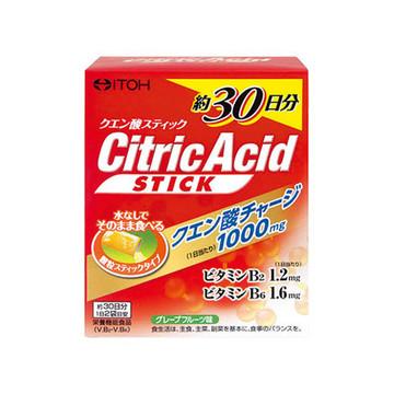 井藤漢方製薬/クエン酸スティック 30日分 商品写真 2枚目