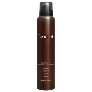 Le ment(ルメント)/スパークリングオイル クレンジング&シャンプー 商品写真 2枚目