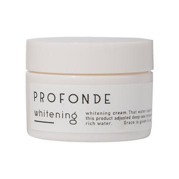 PROFONDE(プロフォンデ)/プロフォンデ 美白クリーム 商品写真 2枚目