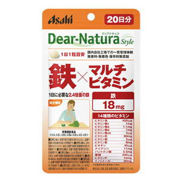 Dear-Natura (ディアナチュラ)/Dear-Natura Style 鉄×マルチビタミン 商品写真 2枚目