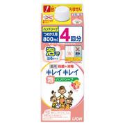 薬用泡ハンドソープ フルーツミックスの香りフルーツミックスの香り つめかえ用 800ml/キレイキレイ 商品写真