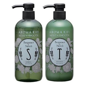AROMA KIFI(アロマキフィ)/AROMA KIFI モイスト&スムースシャンプー/トリートメント 商品写真 2枚目