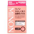 ミノンやさしく洗う弱酸性タオル / ミノン