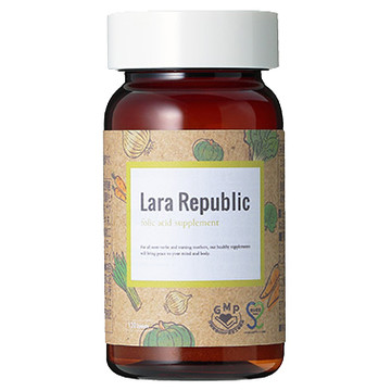 Lara Republic(ララ リパブリック)/葉酸サプリメント(旧) 商品写真 2枚目