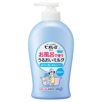 ビオレu/お風呂で使う うるおいミルク 無香料 商品写真 2枚目