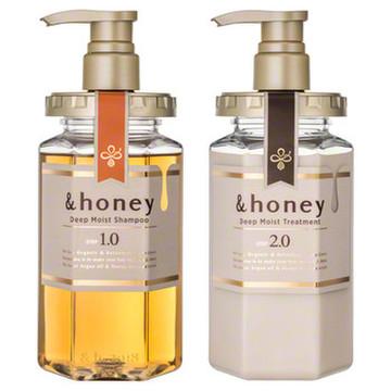 ディープモイスト シャンプー1.0/ヘアトリートメント2.0 / &honey(アンドハニー)