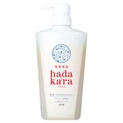 hadakara ボディソープ 保湿+サラサラ仕上がりタイプ アクアソープの香り/hadakara 商品写真 1枚目