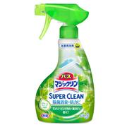 バスマジックリン泡立ちスプレー SUPER CLEANグリーンハーブの香り 本体 380ml/マジックリン 商品写真