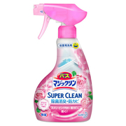 バスマジックリン泡立ちスプレー SUPER CLEANアロマローズの香り 本体 380ml/マジックリン 商品写真