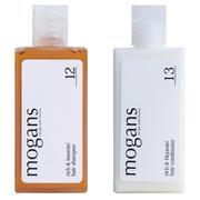 ノンシリコン アミノ酸 スキャルプケア シャンプー/コンディショナー (リッチ&ブルーミン)トライアルキット/mogans(モーガンズ) 商品写真