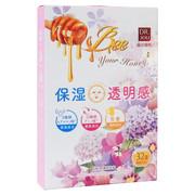 花蜜11種類アミノ酸 保湿×透明感シートマスク/DR.JOU(森田薬粧) 商品写真