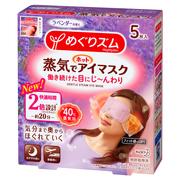 蒸気でホットアイマスク ラベンダーの香り(旧)5枚入り/めぐりズム 商品写真