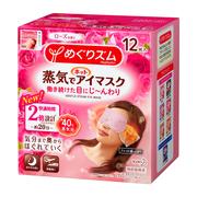 蒸気でホットアイマスク ローズの香り(旧)12枚入り/めぐりズム 商品写真
