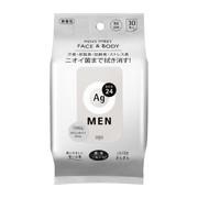 メンズシート フェイス&ボディ(無香性)30/エージーデオ24 商品写真