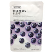 Real Nature Blueberry Face Mask/THE FACE SHOP 商品写真