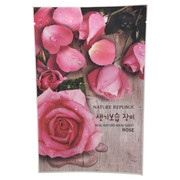REAL NATURE MASK SHEET ROSE/ネイチャーリパブリック 商品写真