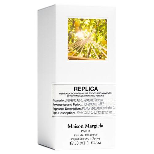 レプリカ オードトワレ アンダー ザ レモンツリー 30ml / Maison Margiela Fragrances(メゾン マルジェラ フレグランス) 商品写真 2枚目