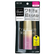 汗ブロックロールオン プレミアムゴールドラベル 無香性 / Ban