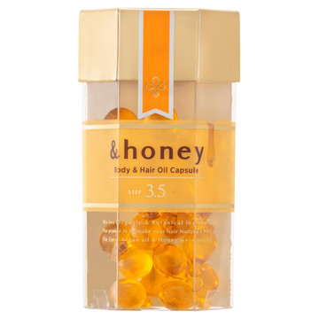&honey(アンドハニー)/ボディ&ヘア オイルカプセル3.5 商品写真 2枚目