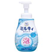 泡で出てくる ミルキィボディソープ やさしいせっけんの香りポンプ 600ml/ミルキィ 商品写真