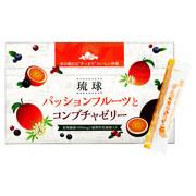 琉球 パッションフルーツとコンブチャゼリー/しまのや 商品写真 1枚目