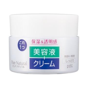 ピュアナチュラル クリームエッセンス モイスト / pdc
