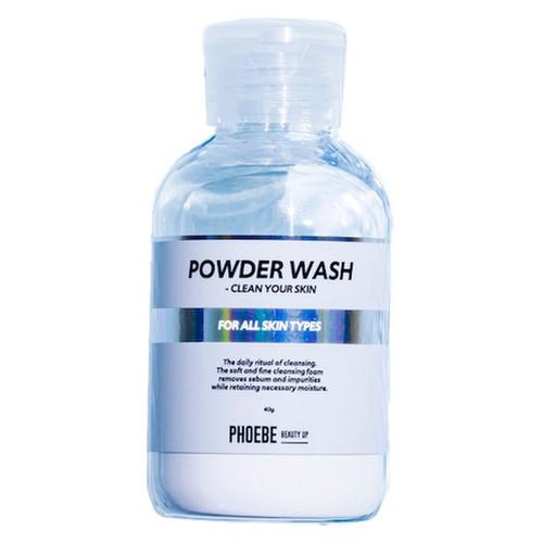 POWDER WASH 40g / PHOEBE BEAUTY UP 商品写真 1枚目