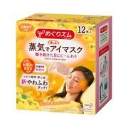 蒸気でホットアイマスク 完熟ゆずの香り12枚入り/めぐりズム 商品写真