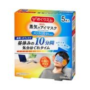 蒸気でホットアイマスク メントールin5枚入り/めぐりズム 商品写真